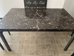 Marble table (no chairs) for Sale in Manassas, VA