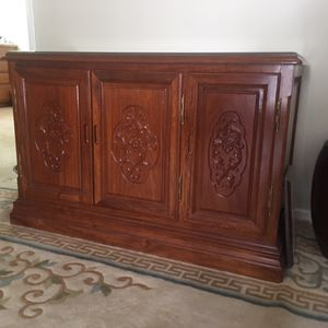Rosewood cabinets for Sale in Ojai, CA