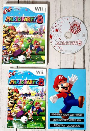 Mario Party 8 Nintendo Wii - Complete Tested for Sale in Harrisonburg, VA