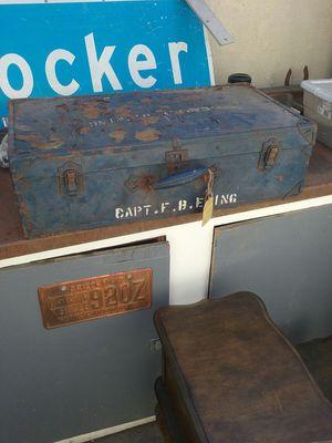Old army locker/case for Sale in Whittier, CA