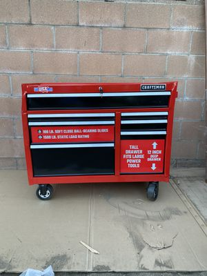 CRAFTSMAN TOOL BOX for Sale in Fontana, CA