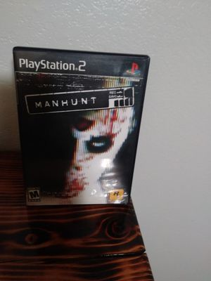 MANHUNT FOR PS2 for Sale in West Valley City, UT
