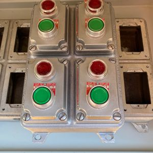 Killark 4 Gang Assembly Box With Heavy Duty Start Switches for Sale in Fresno, CA