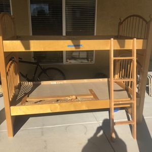 Wood Bunk Beds for Sale in Chula Vista, CA