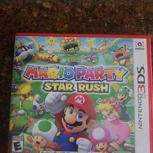Mario Party Star Rush for Sale in Buffalo Grove, IL