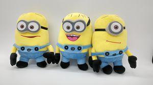 3 Minions Plush Toys for Sale in Chicago, IL