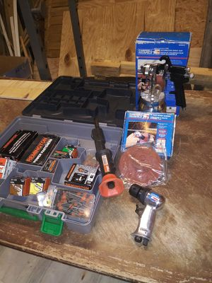 Ramset/ hs sander/automotive spray gun for Sale in Covington, GA