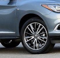 2019 Infiniti QX60 wheels and rims