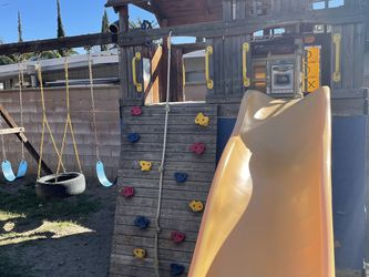 FREE Wooden Play set for Sale in Fontana,  CA