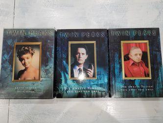 Twin Peaks Complete Seasons for Sale in El Paso,  TX