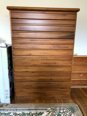 4 Drawer Wood Dresser 51 H x 36 W x 18 D for Sale in Annandale, VA