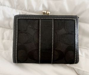 Black Coach Wallet - practically new for Sale in Washington, DC