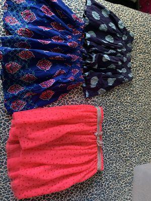 Girls dress and 3 mini skirts. for Sale in Chesapeake, VA