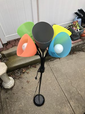 Lamp. Multicolors for Sale in New York, NY