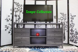 NEW, Jane TV Stand up to 70in TVs, Distressed Grey Finish, SKU# 161627-3 for Sale in Fountain Valley, CA