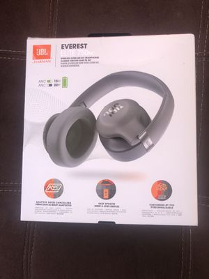 JBL Everest 750 Silver Over-Ear Wireless Bluetooth Headphones for Sale in San Mateo, CA
