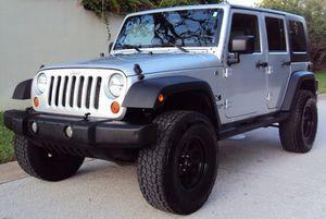 BEST CAR WRANGLER 07 JEEP NEW for Sale in Grand Rapids, MI