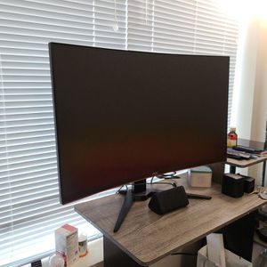 "AOC C32G1 32"" Curved Frameless Gaming Monitor, FHD 1920x1080, VA panel, 1ms MPRT, 144Hz, FreeSync, DisplayPort/HDMI/VGA, VESA for Sale in Seattle, WA"