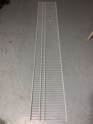 "92"" wire shelving with support brackets included for Sale in Lake Worth, FL"