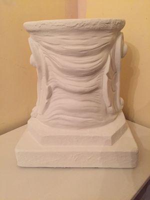 Plaster pedestal for Sale in White Plains, NY