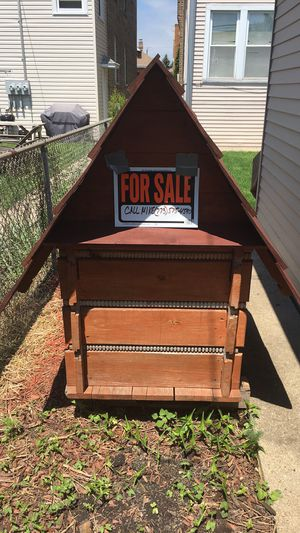 Dog house- solid wood for Sale in Chicago, IL