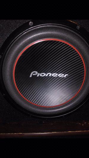 12in pioneer speaker for Sale in El Monte, CA