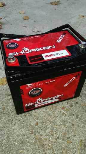 Shuriken battery 800w for Sale in Woodbridge, VA