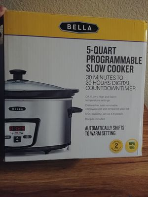 NEW slow cooker for Sale in Corona, CA