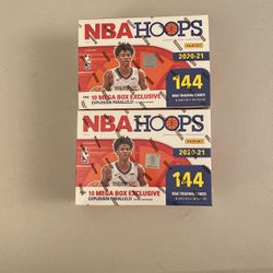 NBA HOOPS 2021 Mega Box $125 Each for Sale in Washington,  DC
