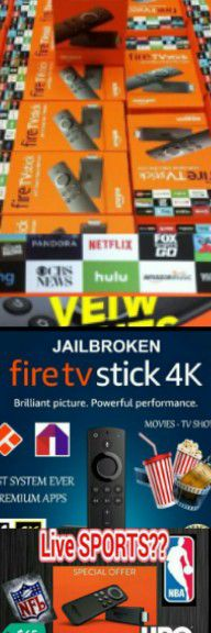 ●FIRE TV STICKS!! SAY NO TO CABLE!● for Sale in Tucson, AZ