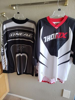O'Neal and Thor,Riding jerseys Motocross for Sale in Avondale, AZ