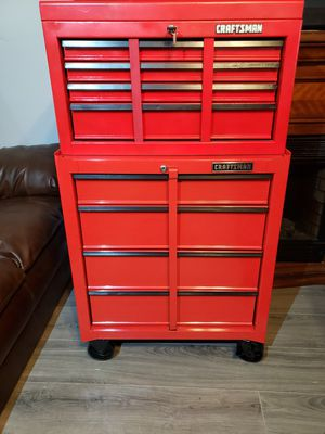 CRAFTSMAN Tool Box!! Like New Toolbox on Casters!! Looks and Functions AMAZING!! MUST SELL!!Make Offer!!! for Sale in Phoenix, AZ