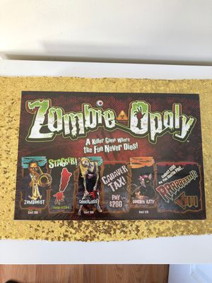 Zombie opoly brand new for Sale in Bridgeport, CT