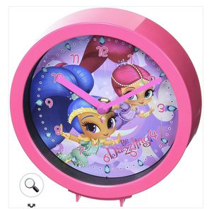 Shimmer & Shine Clock With Tabletop Wall Hanging for Sale in Los Angeles, CA