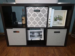 Tv cube stand with organizers for Sale in LaSalle, IL