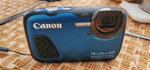 Canon Digital Waterproof Camera Power Shot D30 5X Optical Zoom for Sale in Downey, CA