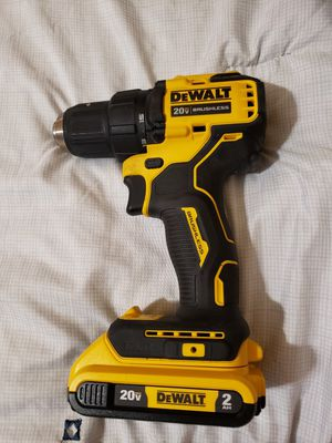 "DEWALT DCD708 20VMAX 1/2"" CORDLESS DRILL DRIVER BRUSHLESS COMPACT WITH BATTERY 20V 2AH for Sale in Orlando, FL"