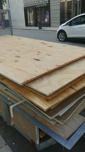 Free fire rated plywood for Sale in Miami, FL