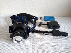 Blue 3-Zoom T6 LED Rechargeable Headlight for Sale in San Diego, CA