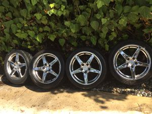 Acura Rsx Type S rims-polished/chromed-02-06 Acura Rsx Type S- Wheels , Oem Honda Part, Rare Set of wheels to find for Sale in Los Angeles, CA