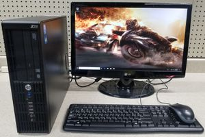 HP SFF Windows 10 Gaming Computer System I7-2600 for Sale in Layton, UT