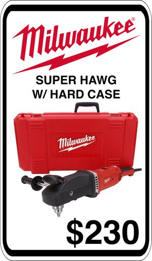 BRAND NEW - Milwaukee Super Hole Hawg - We accept trades & Credit Cards - AzBE Deals for Sale in Sun City, AZ
