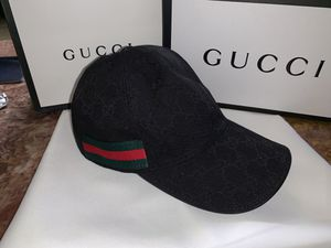 Gg black monogram hat for Sale in Milpitas, CA
