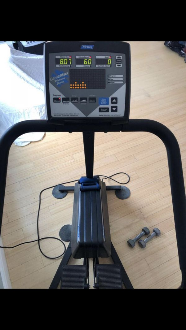 Techtrix stair master stair climber exercise machine