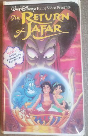 The Return of Jafar vhs walt Disney for Sale in Three Rivers, MI