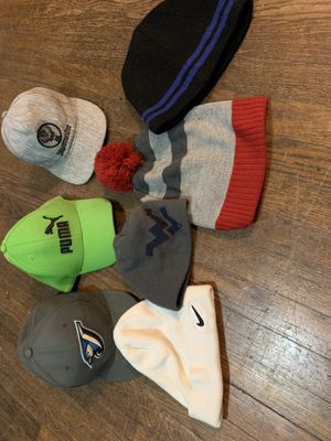 Men's boys hats Toboggan winter hat men boy. New era 59fifty blue jays. 59 fifty. Puma. Nike. Eddie bower. Eddie bower. Poof. Jaegermeister. Jagermei for Sale in Mount Rainier, MD