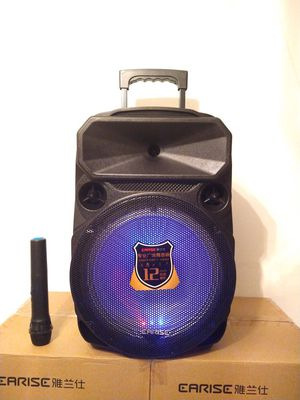 12 INCH PARTY SPEAKER 🔋 PORTABLE LOUD SOUND $90. NEW IN BOX for Sale in Rialto, CA