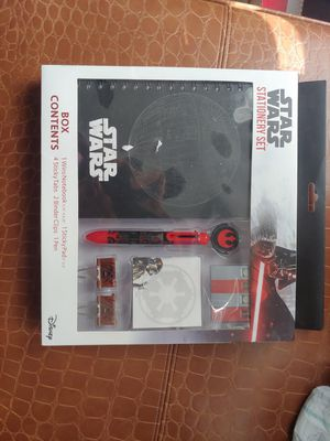 Star war stationery set for Sale in Irving, TX
