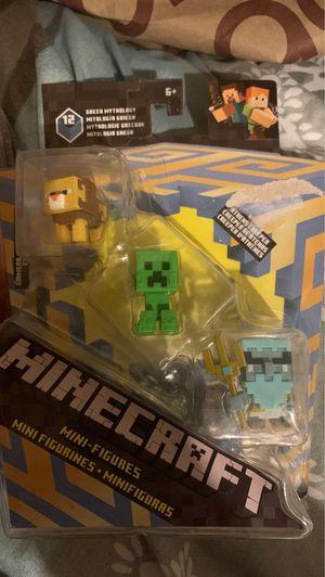 2 new mini figures Minecraft Roblox for Sale in Santa Ana, CA