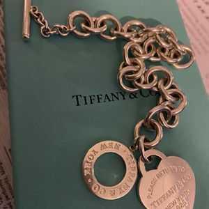 TIFFANY AND CO CHARM BRACELET for Sale in Los Angeles, CA